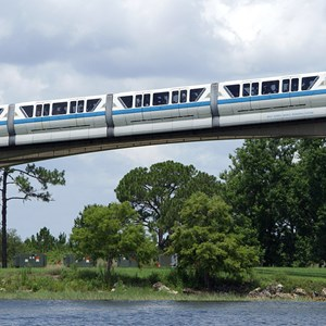 1 of 4: Walt Disney World Monorail System - Monorail Blue