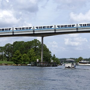 2 of 4: Walt Disney World Monorail System - Monorail Blue