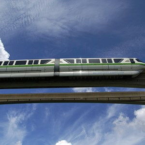 1 of 3: Walt Disney World Monorail System - Monorail Green