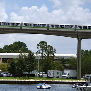 2 of 3: Walt Disney World Monorail System - Monorail Green