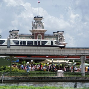 1 of 2: Walt Disney World Monorail System - Monorail Black