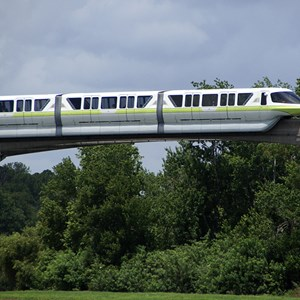 1 of 7: Walt Disney World Monorail System - Monorail Lime