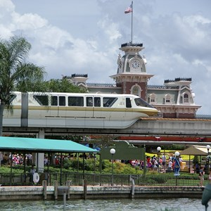 1 of 1: Walt Disney World Monorail System - Monorail Gold