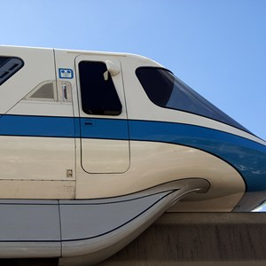 3 of 4: Walt Disney World Monorail System - Monorail Blue