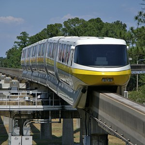1 of 3: Walt Disney World Monorail System - Monorail Yellow