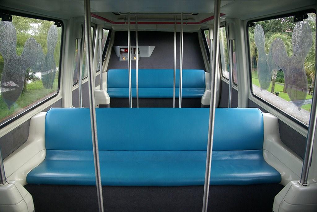 Monorail interior