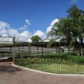 Walt Disney World Monorail System - Entrance to the Express Monorail side of the Magic Kingdom Station