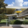 Walt Disney World Monorail System - Monorail Yellow inside the TTC Station on the Epcot Line