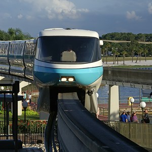 6 of 9: Walt Disney World Monorail System - Monorail Teal