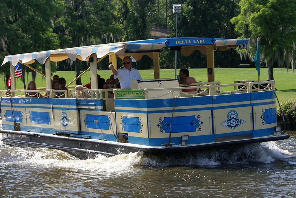 Delta Lady boat