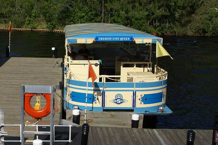 Cresent City Queen boat