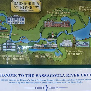 1 of 1: Sassagoula River Cruise - Sassagoula River Cruise map