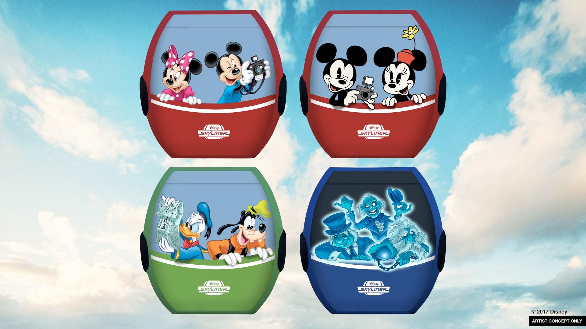 Disney Skyliner concept art