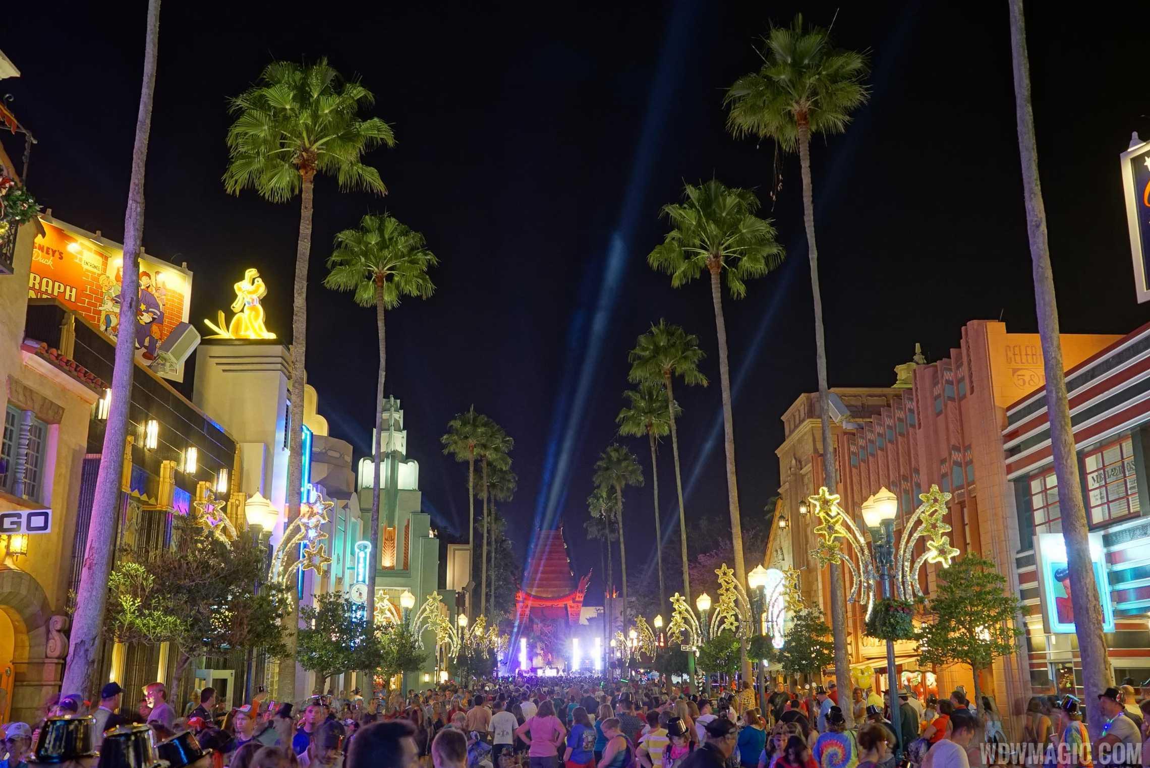 Disney's Hollywood Studios New Year's Eve