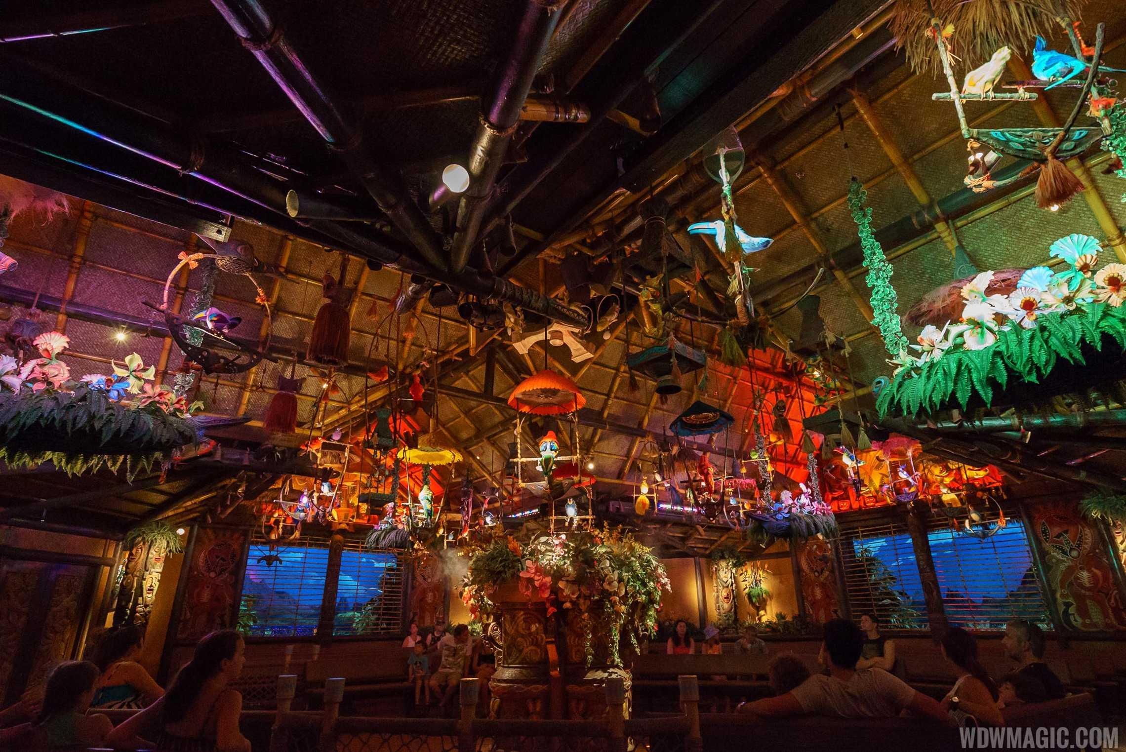Walt Disney's Enchanted Tiki Room show