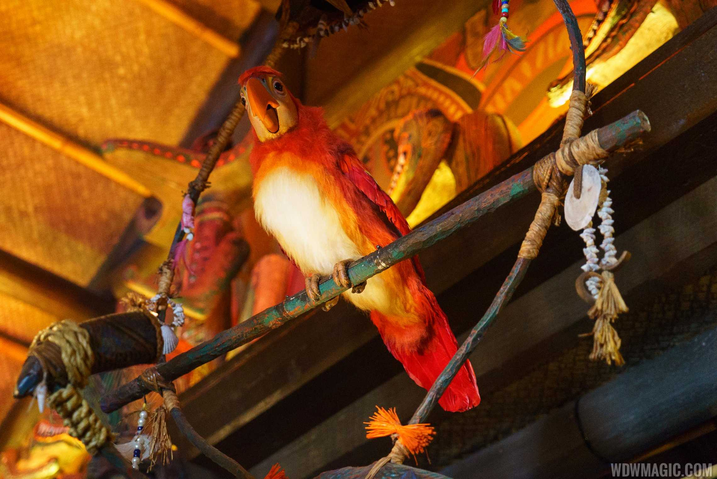 Tiki Room Audio-Animatronic figure