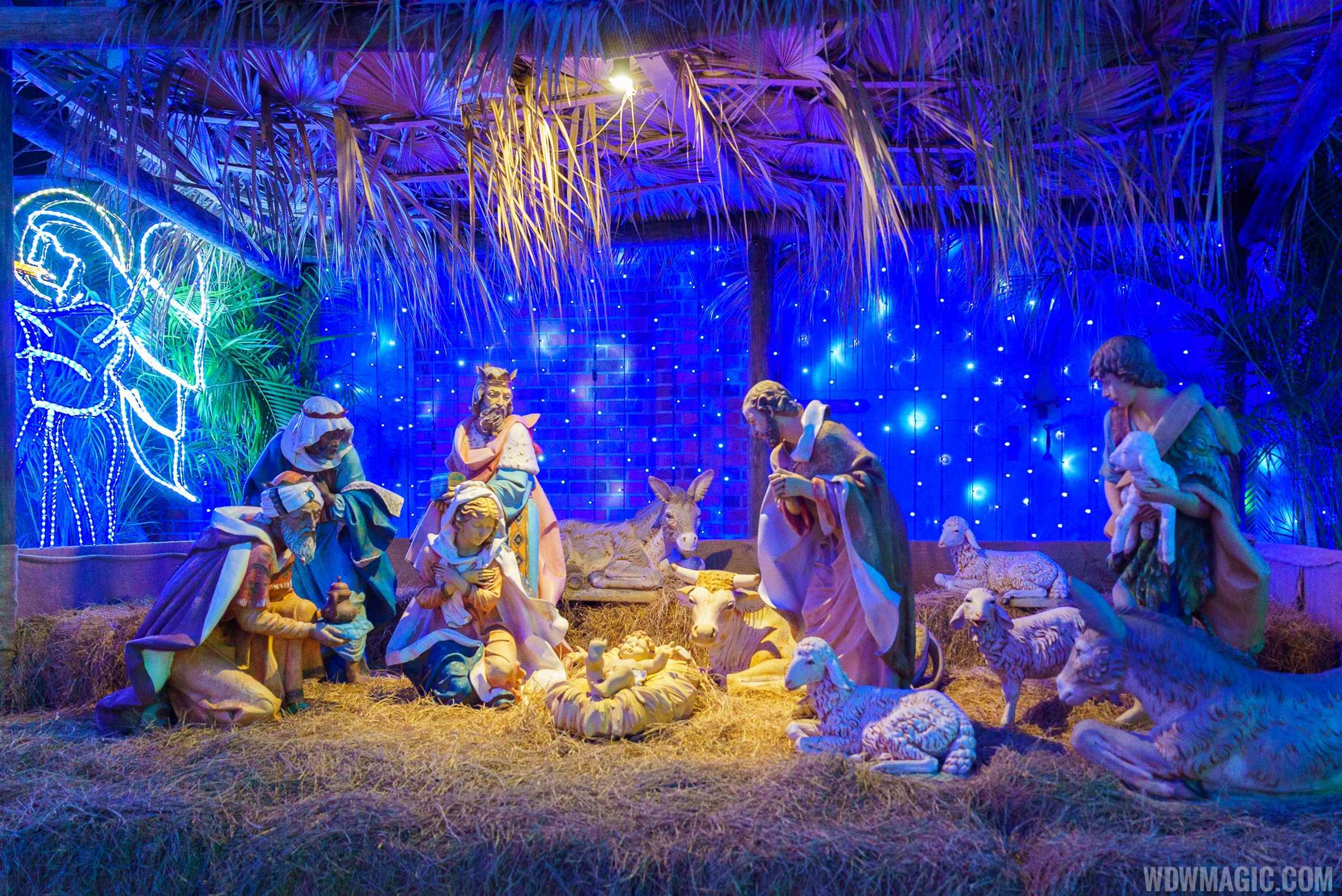 Osborne Lights Nativity Scene