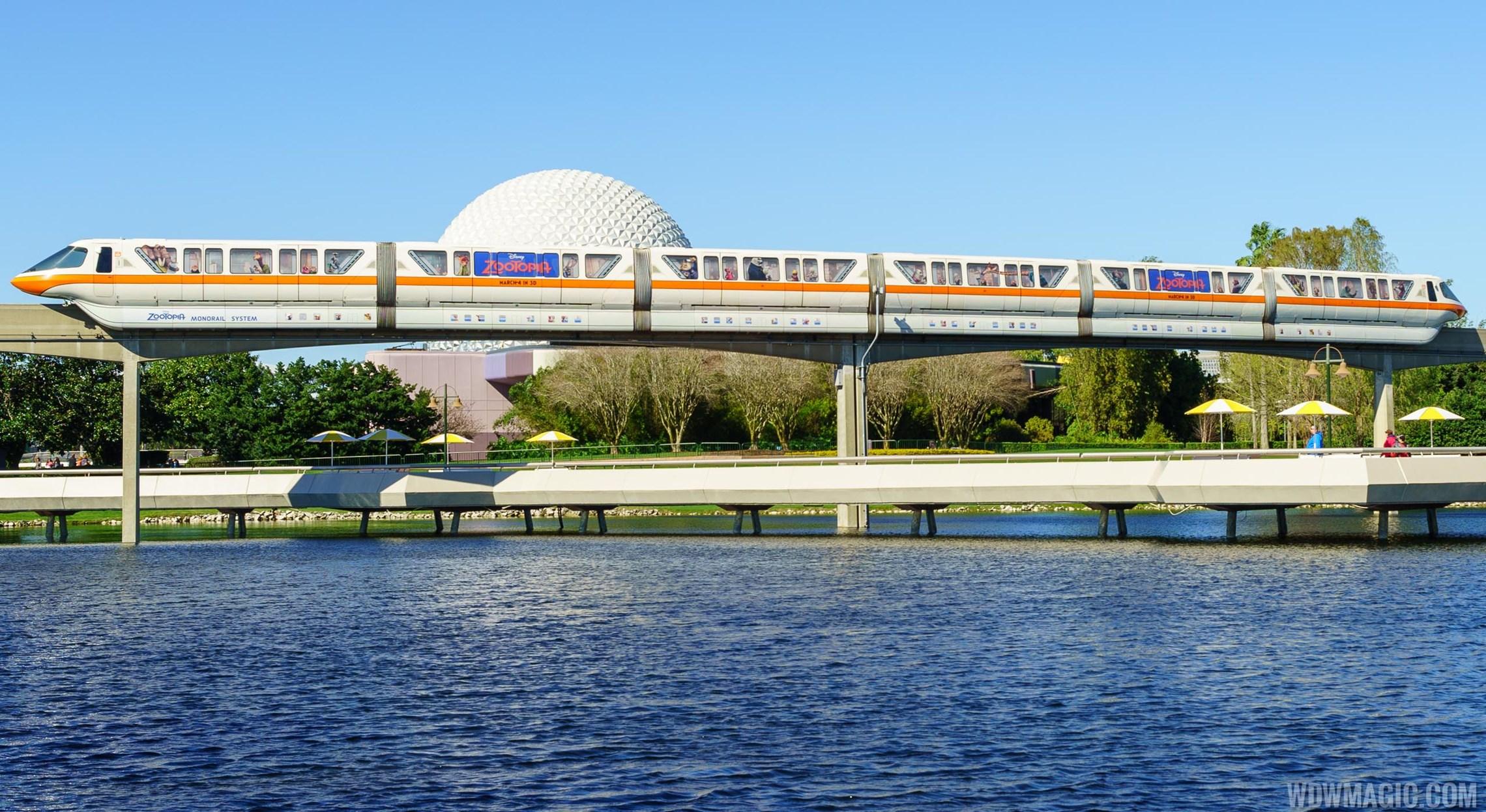 Zootopia Monorail System