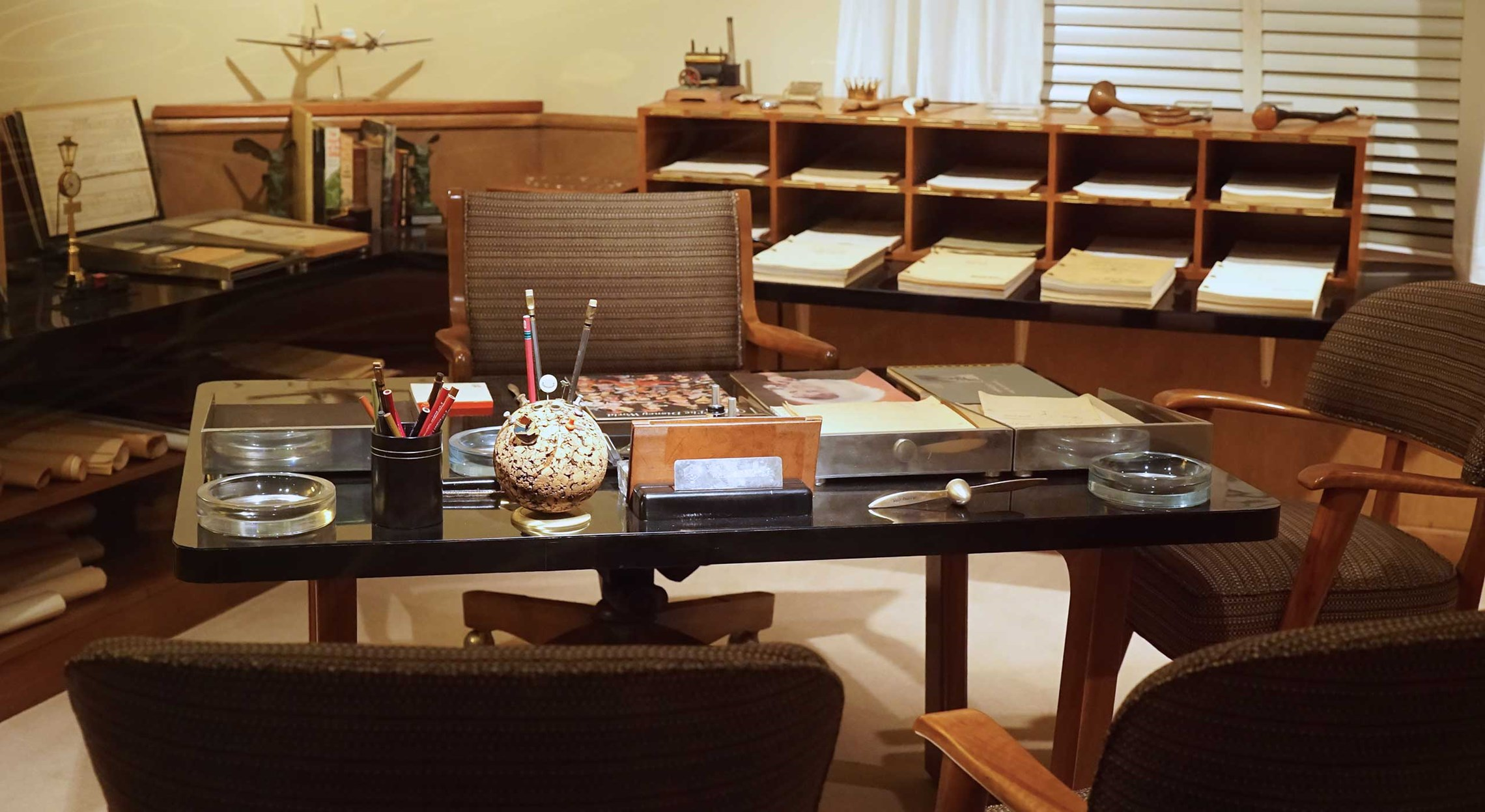 Walt's Desk at One Man's Dream