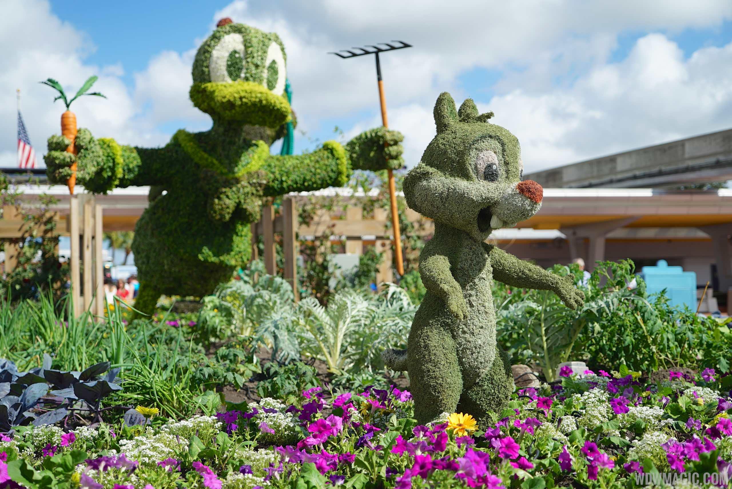 Epcot International Flower And Garden Festival 2015 Epcot Flower And Garden Festival Main