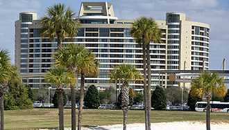 Bay Lake Tower pool now closed for refurbishment