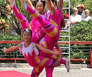 Dragon Legend Acrobats