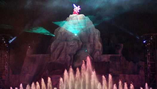 Disney's Hollywood Studios Fantasmic adds Frozen as part of projector upgrades