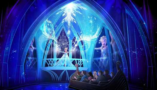 PhotoPass comes to Frozen Ever After with on-ride photo