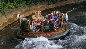Kali Rapids no longer part of Morning Extra Magic Hours at Disney's Animal Kingdom