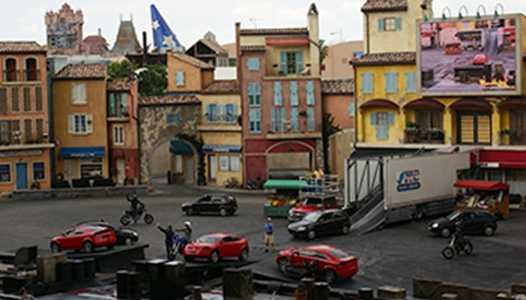 Lights, Motors, Action Extreme Stunt Show refurbishment in September