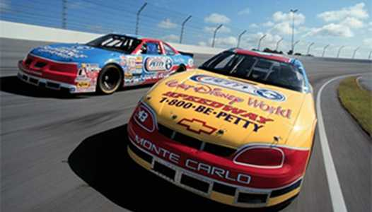 Former NASCAR racers used at Walt Disney World's Richard Petty Driving Experience sold on Ebay
