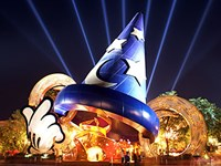 Sorcerer Mickey Hat Icon