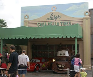 The Stars of Cars at Luigi&#39;s Garage
