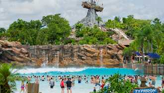 Typhoon Lagoon closed today due to low temperatures