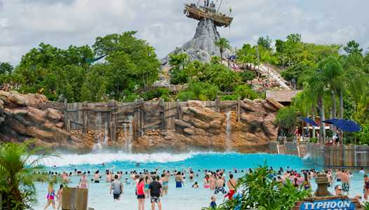 Typhoon Lagoon closed today due to inclement weather