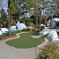Winter Summerland Mini Golf