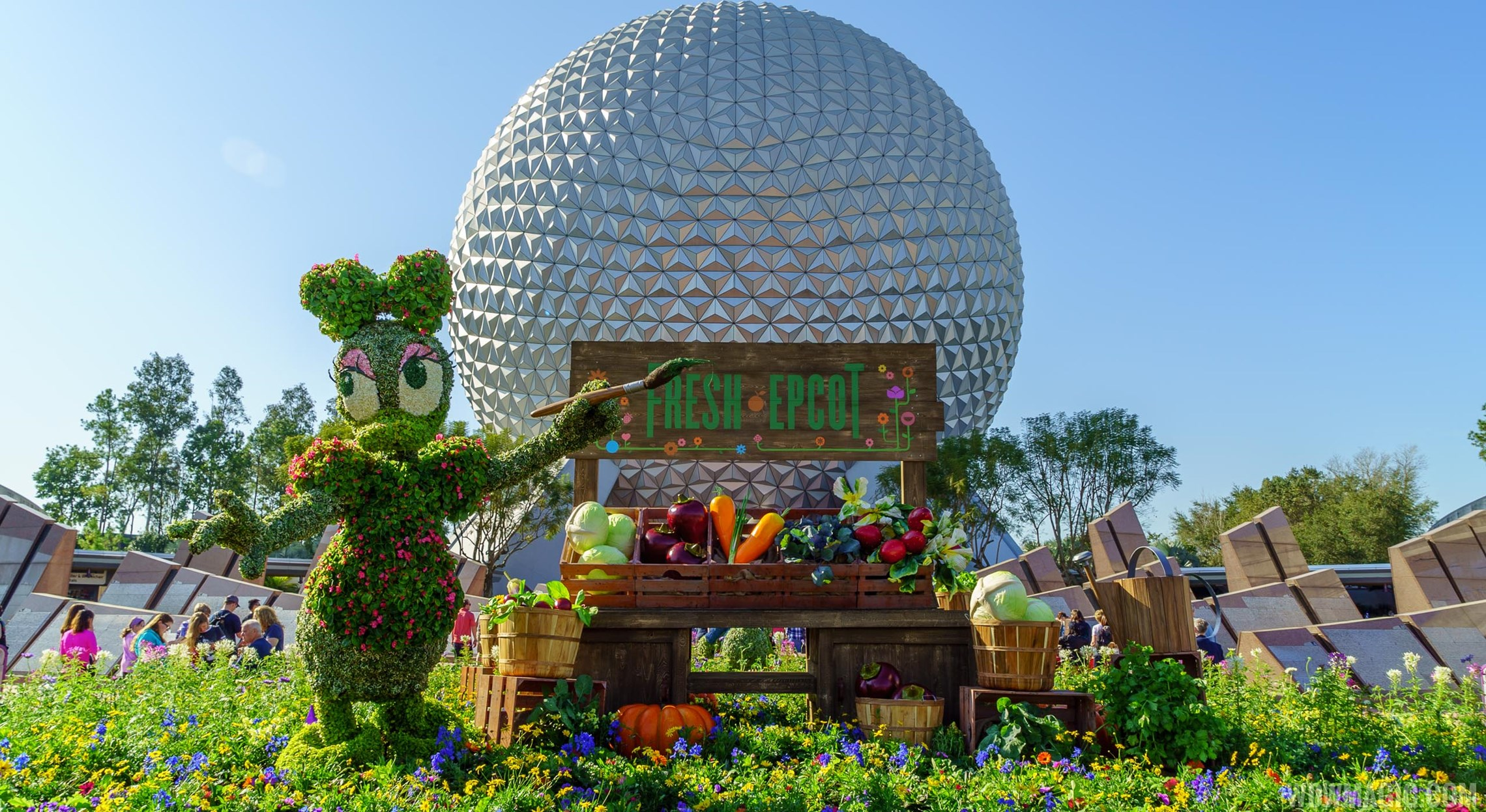 Guide to the 2016 Epcot Flower & Garden Festival