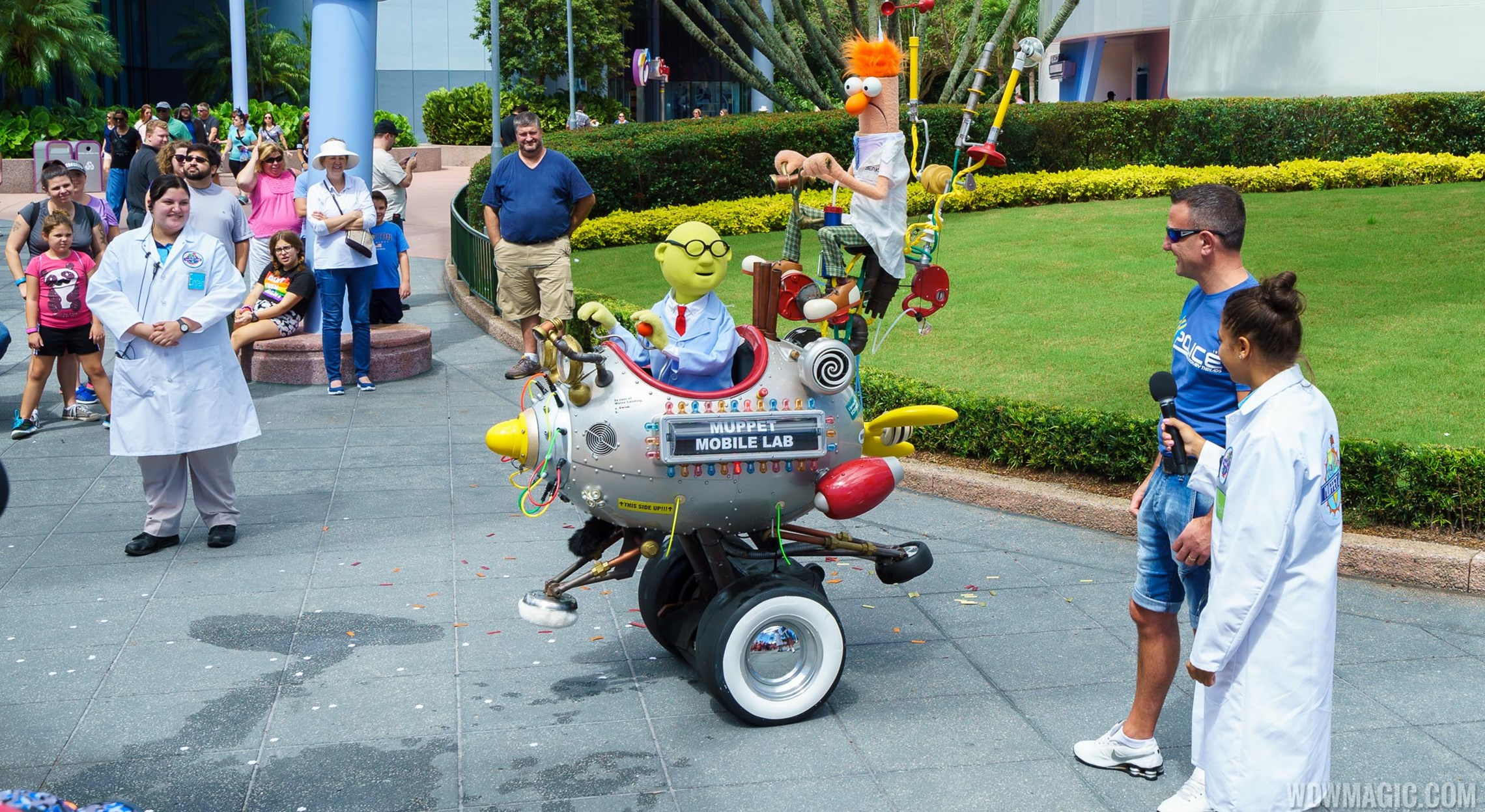 Muppet Mobile Lab back at Epcot