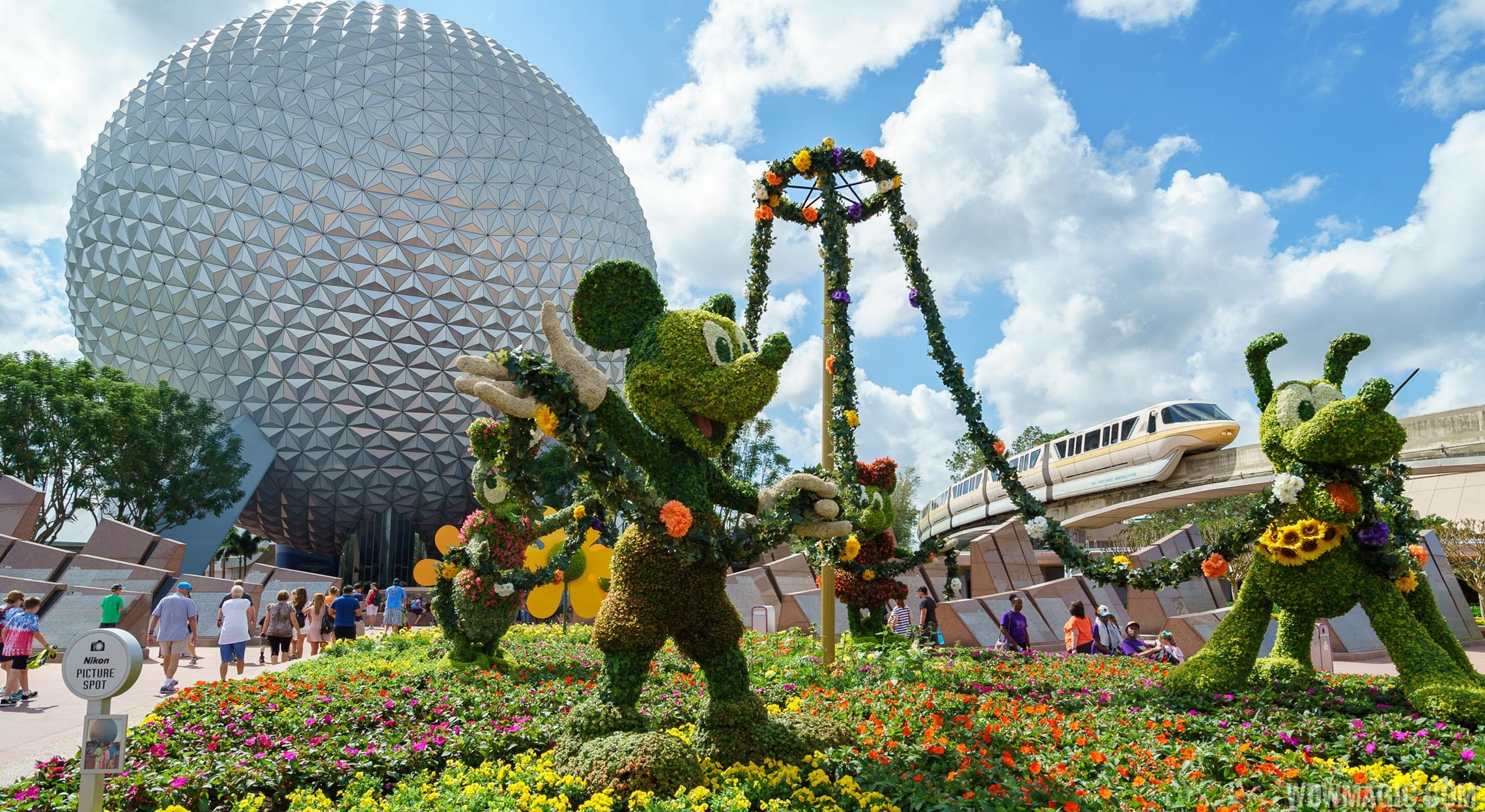Photos from the 2017 Epcot Flower and Garden Festival