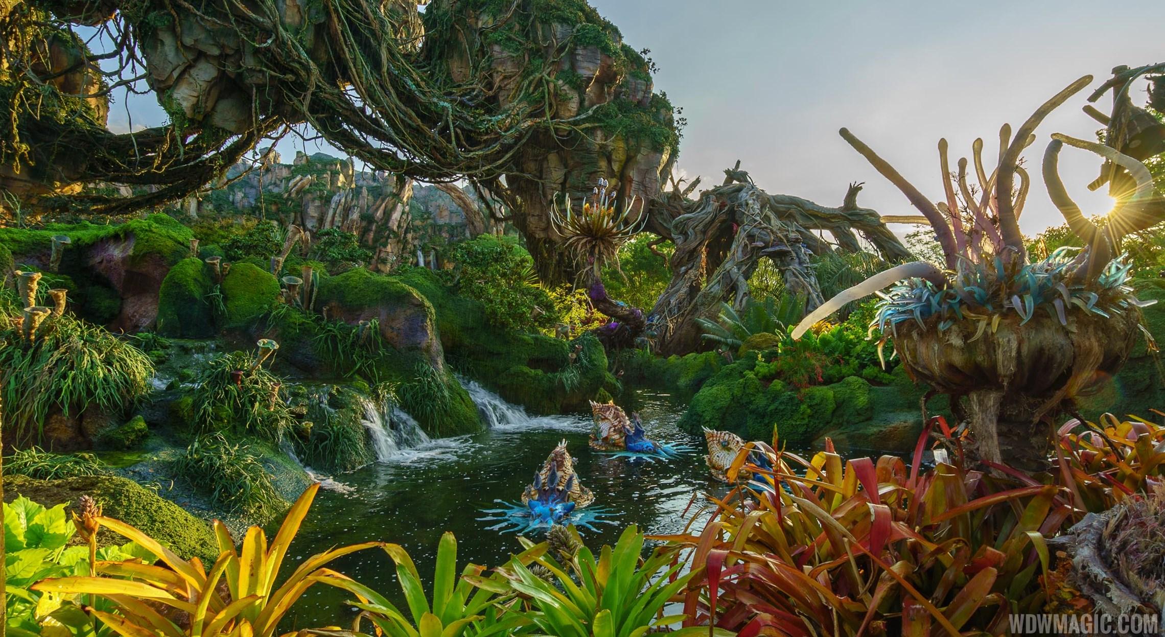 Tour the spectacular landscape of Pandora