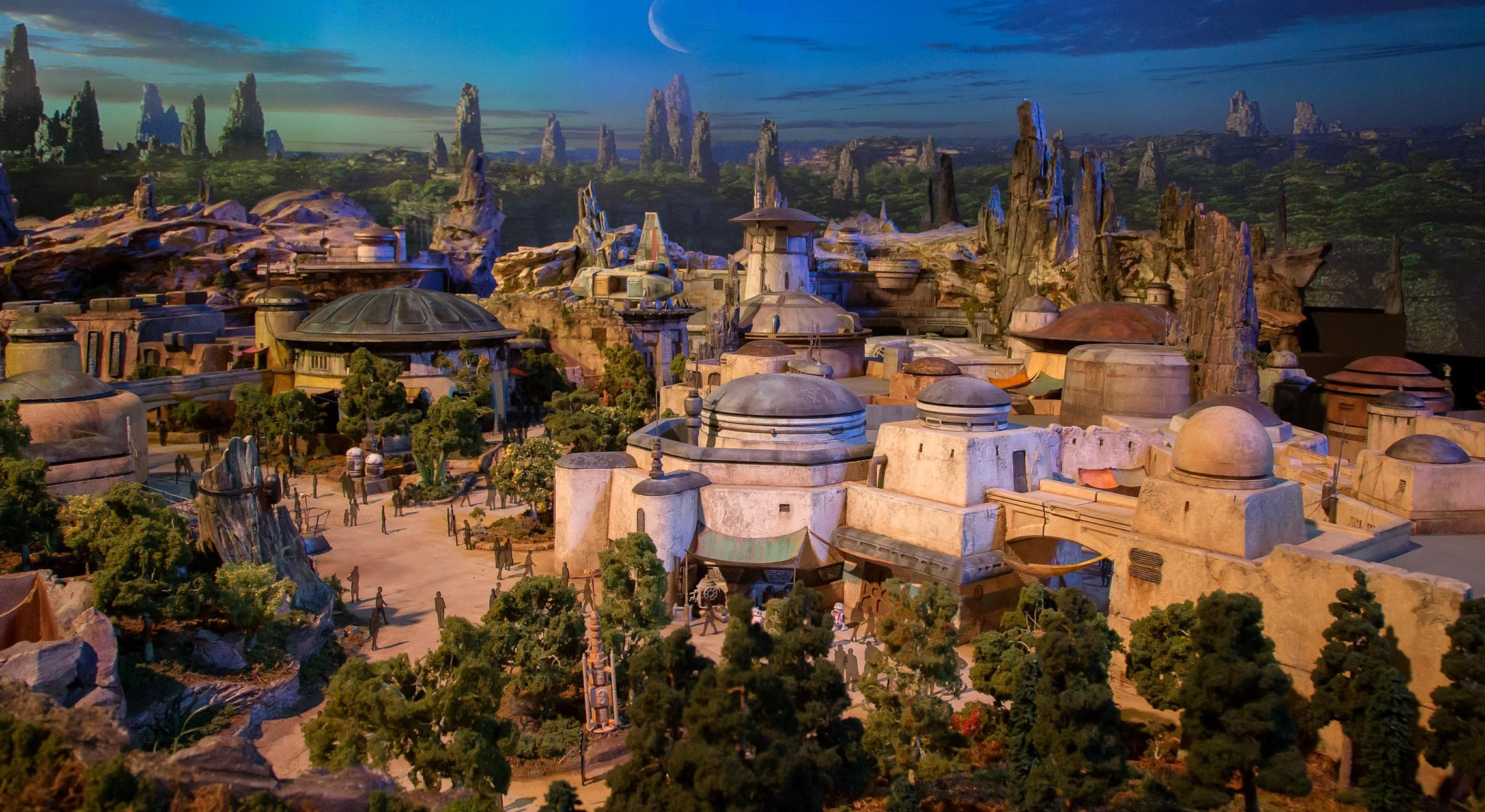 Star Wars Land model unveiled at D23 Expo