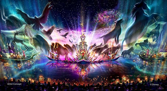 Disney reveals details for new nighttime show - Rivers of Light